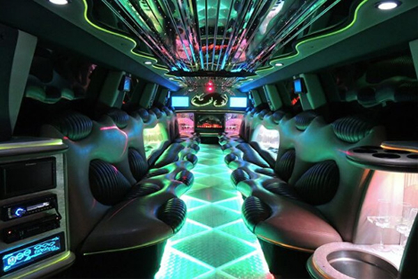 14 Person Hummer Limo Rental Houston