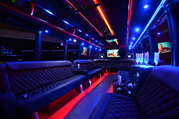 40 Person Party Bus Rental Houston