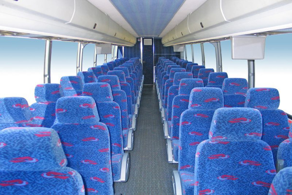 50 Person Charter Bus Rental Houston